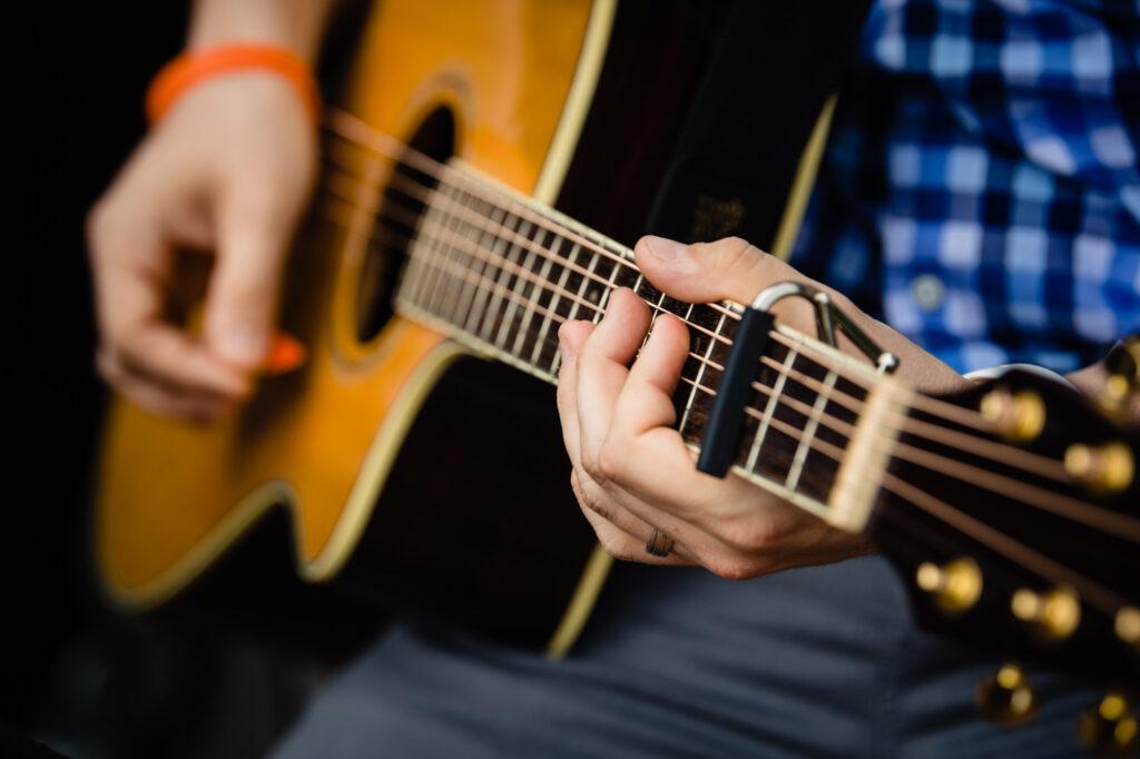 guitar at Grove City Wedding Venue