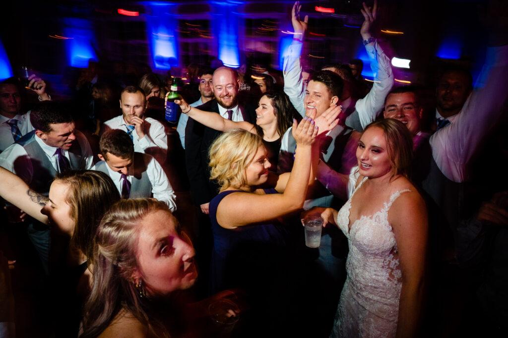 dancing at Grove City Wedding Venue