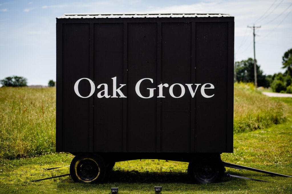 Oak Grove Jorgensen Farms sign