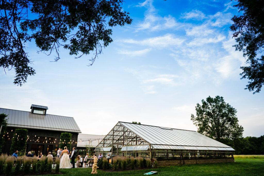 reception at Oak Grove Jorgensen Farms