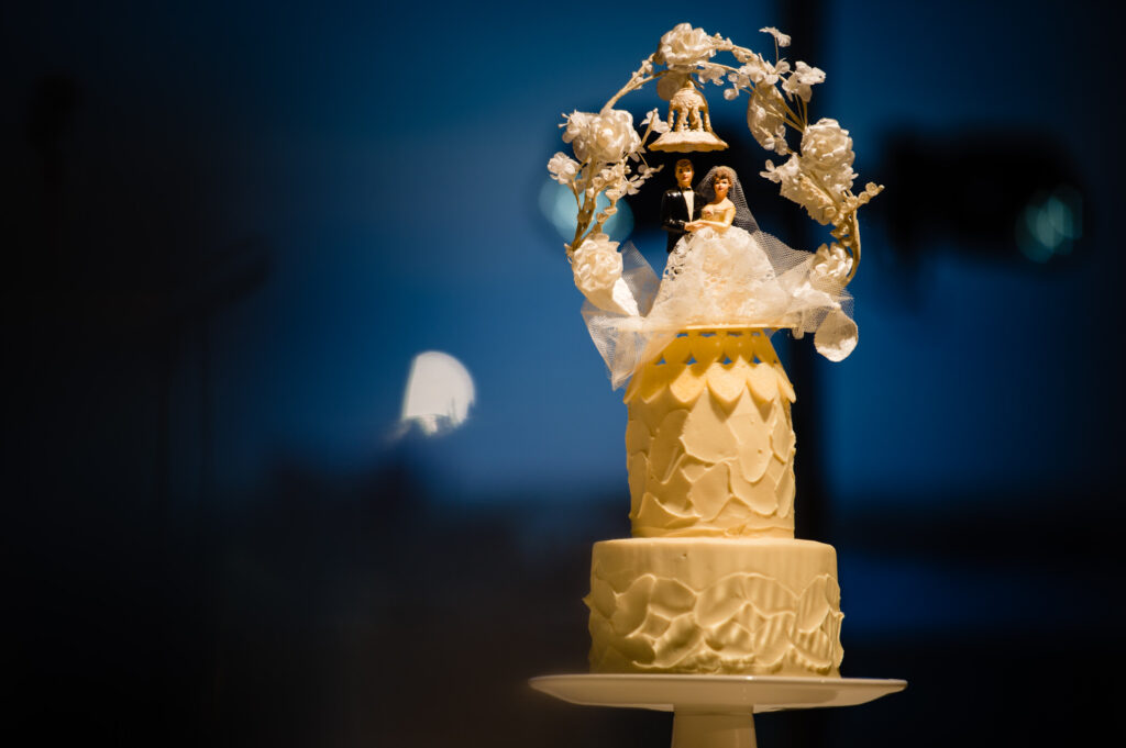 cake at Columbus Art Museum Wedding
