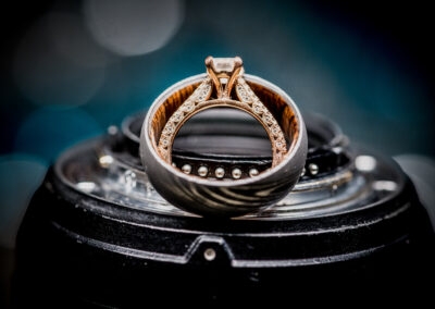 Columbus Wedding Photographers at Jorgensen Farms Historic Barn Ring Shot