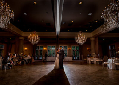 dancing at Pinnacle Golf Club Wedding