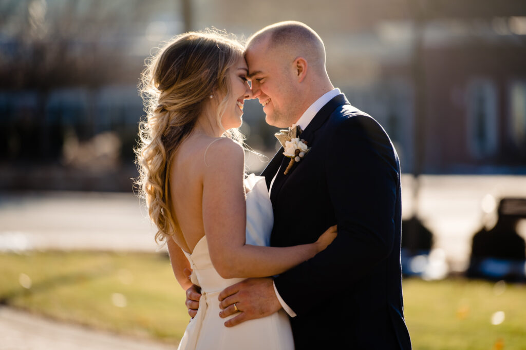 A wedding at The University of Dayton and The Steam Plant in Dayton Ohio