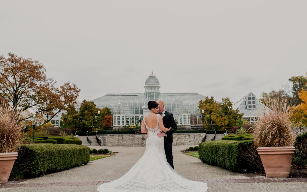 Franklin Park Columbus Wedding | Ashley & Donnie
