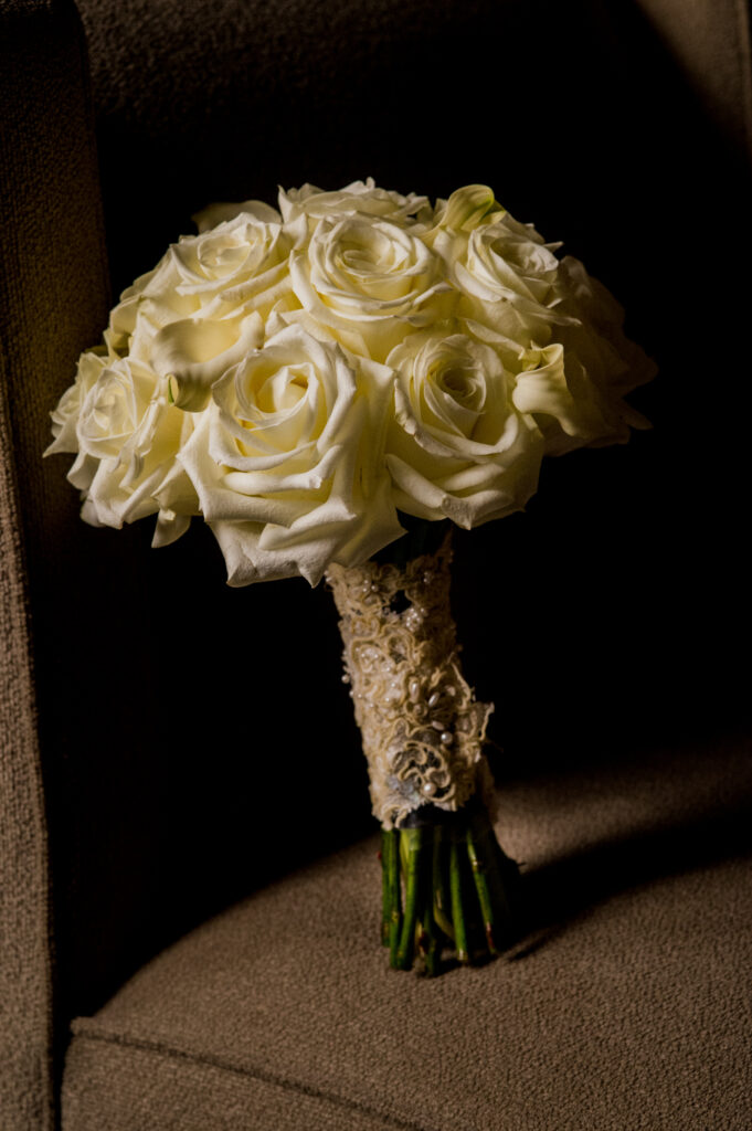 flowers at Franklin Park Conservatory Wedding
