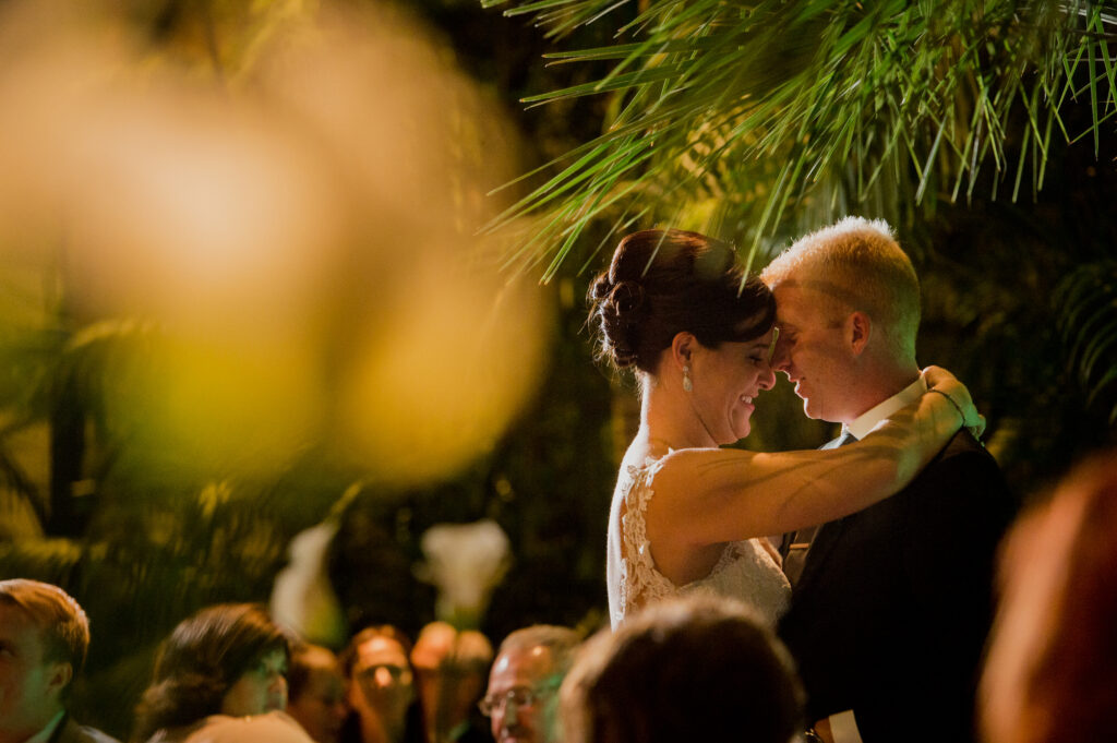 first dance at Franklin Park Conservatory Wedding