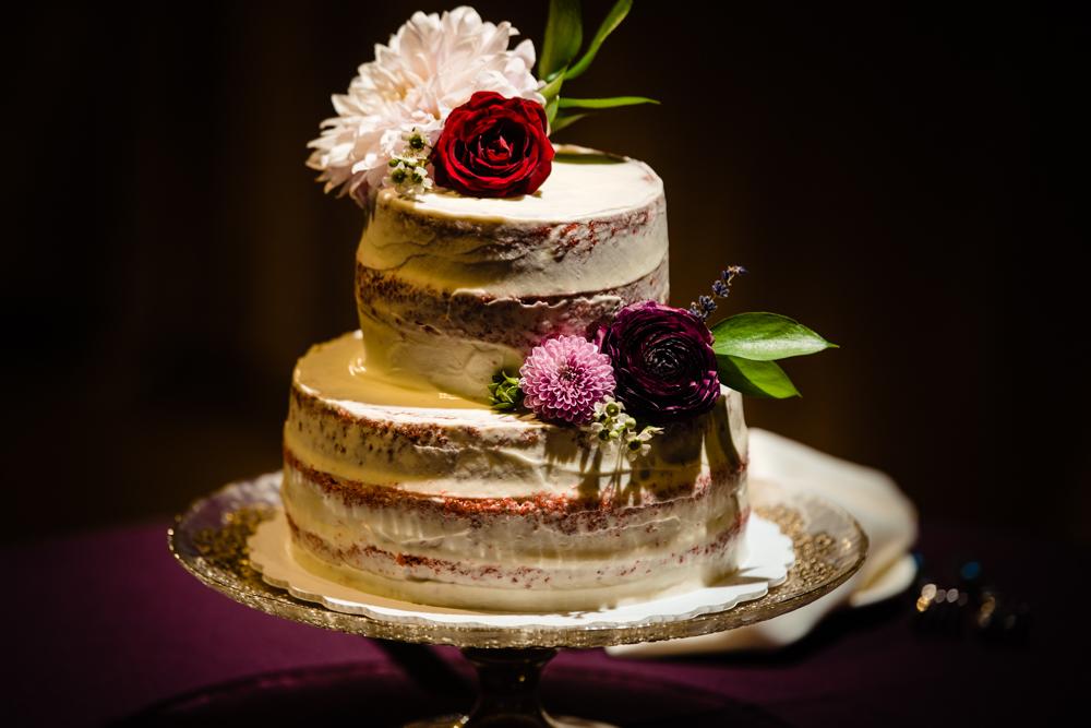 cake  Spring Wells Barn Wedding