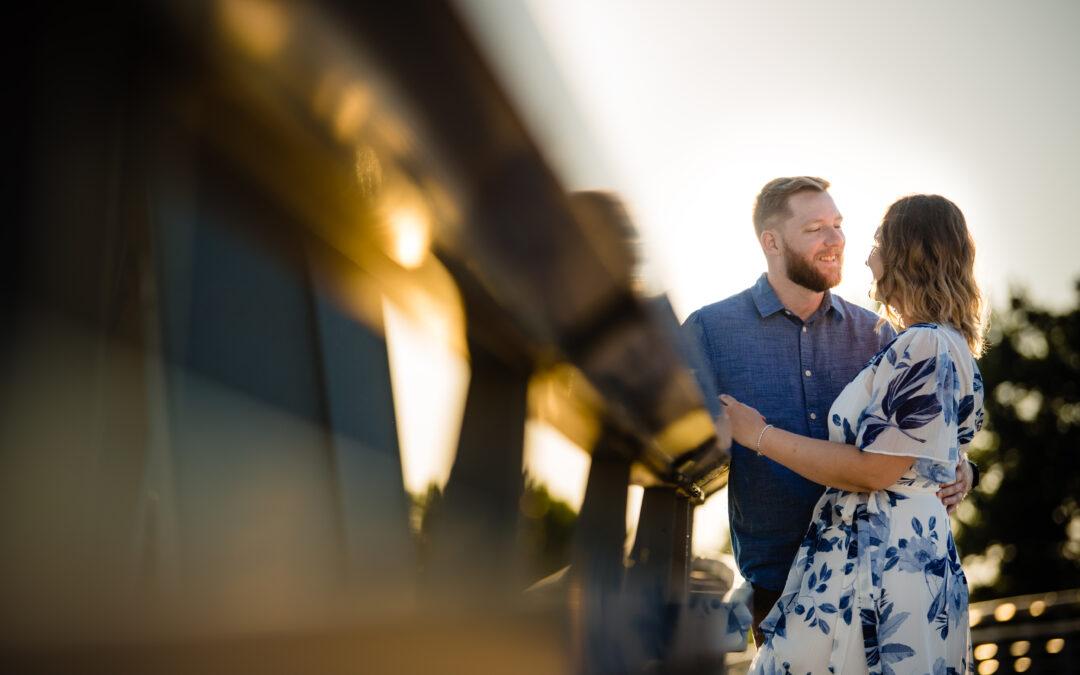 Scioto Mile Engagement Session | Ali & Jake