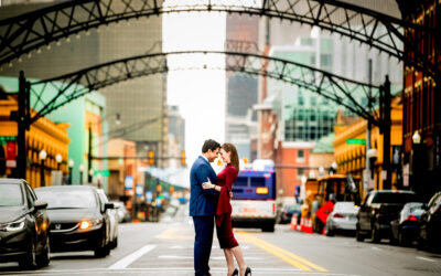 Short North Engagement Photos | Katie and Viren