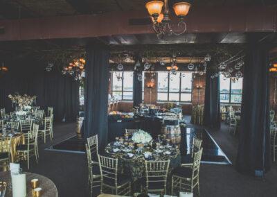 Aerial International Center Weddings