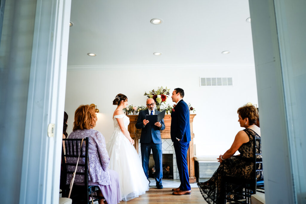 Flowers and Bread Intimate Wedding