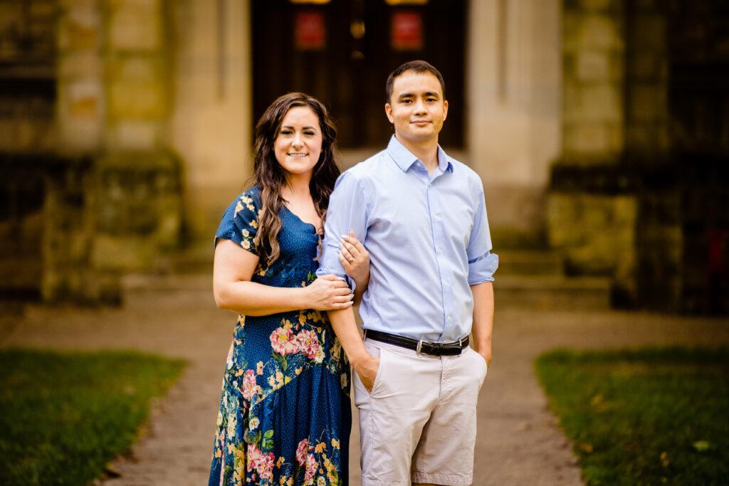 Kenyon College Engagement Photographer