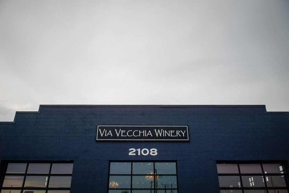 Via Vecchia Winery Wedding Columbus Ohio