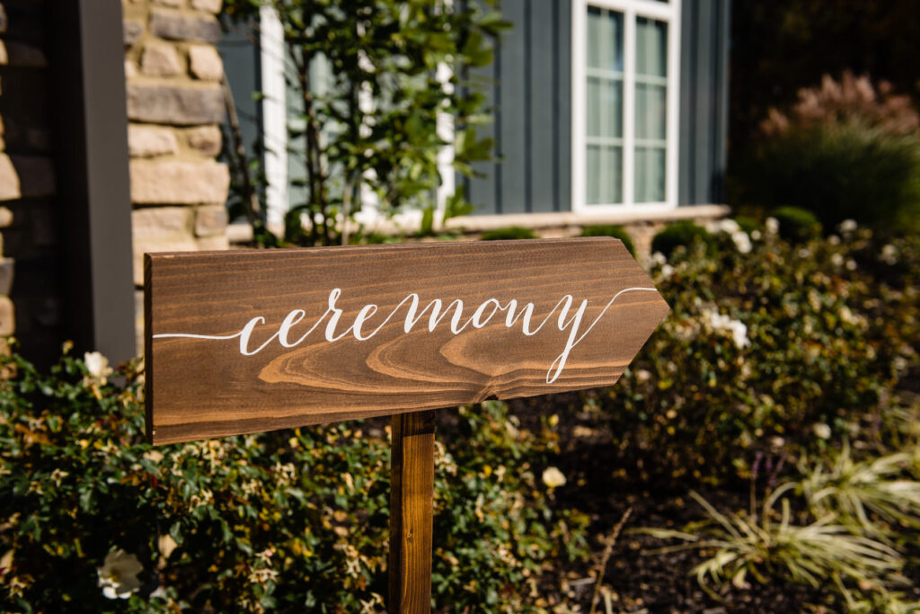 The Estate at New Albany Wedding