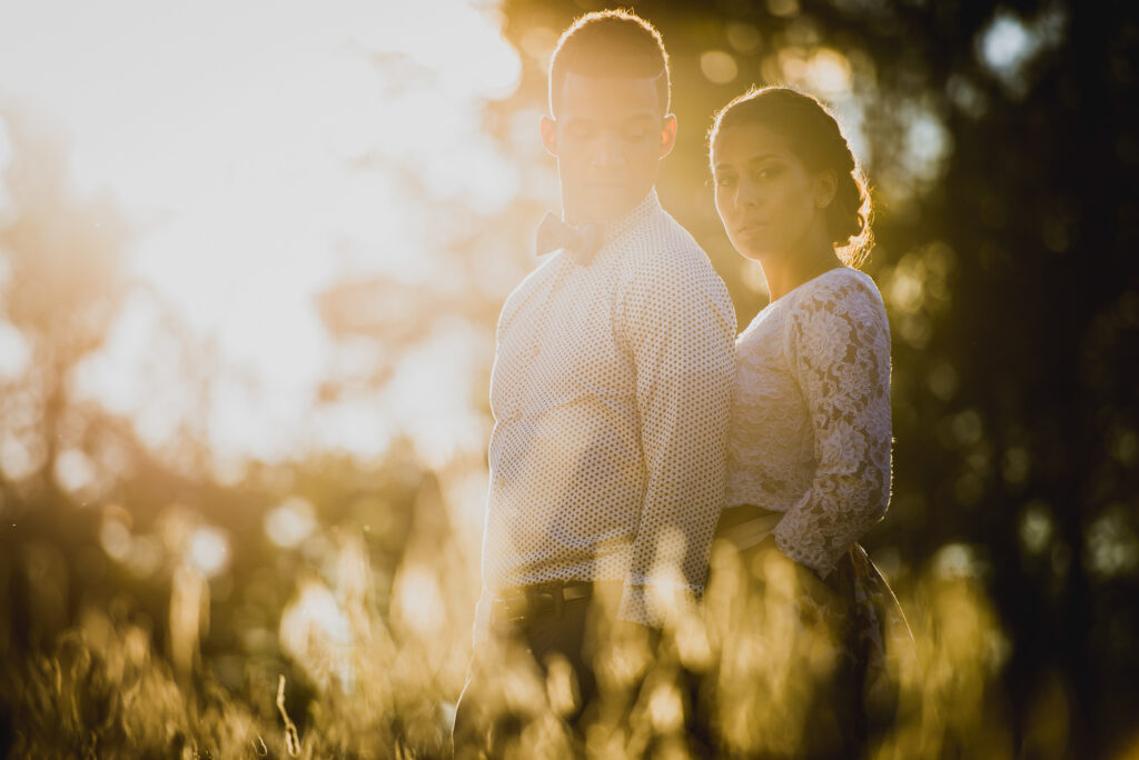 Planning for sunset portraits