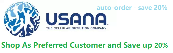 Become a prefered USANA customer