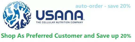 Become a prefered USANA customer