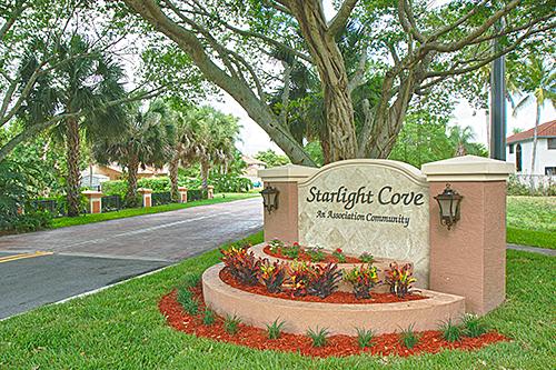 Starlight Cove entrance