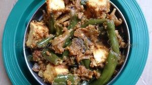 Paneer French Beans Masala Sabji