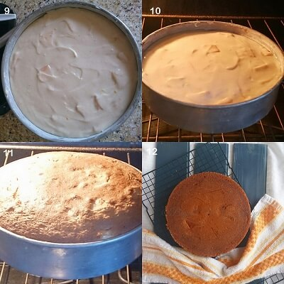 Eggless Cinnamon Apple Cake 3