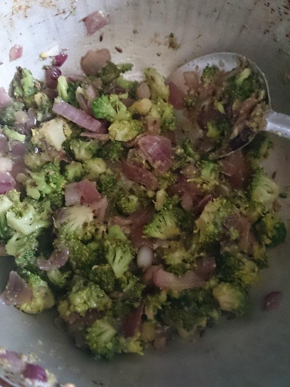 Broccoli Tikki Chat 4