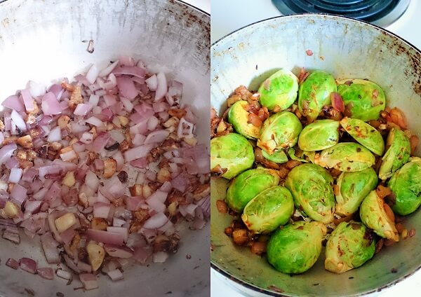 Brussel Sprout Stir Fry 2