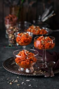 Gajar Halwa (Carrot Dessert)