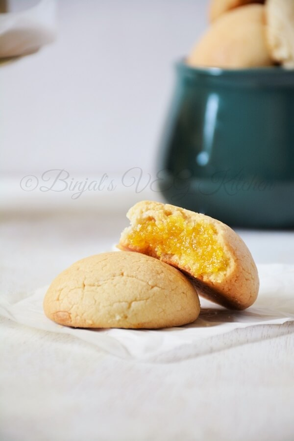 Pineapple Coconut Eggless Cookies