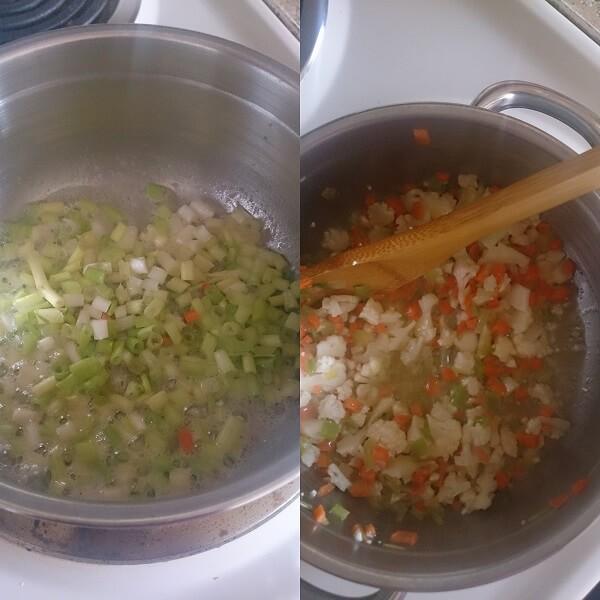Veggie Sweet Corn Soup 2