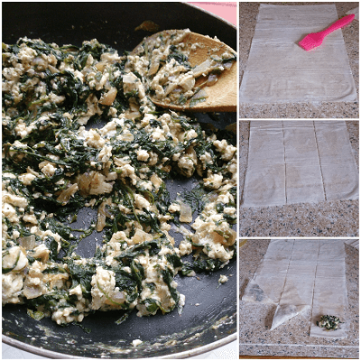 Spanakopita Triangles 2