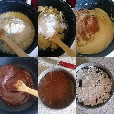 Chocolate Burfi 2