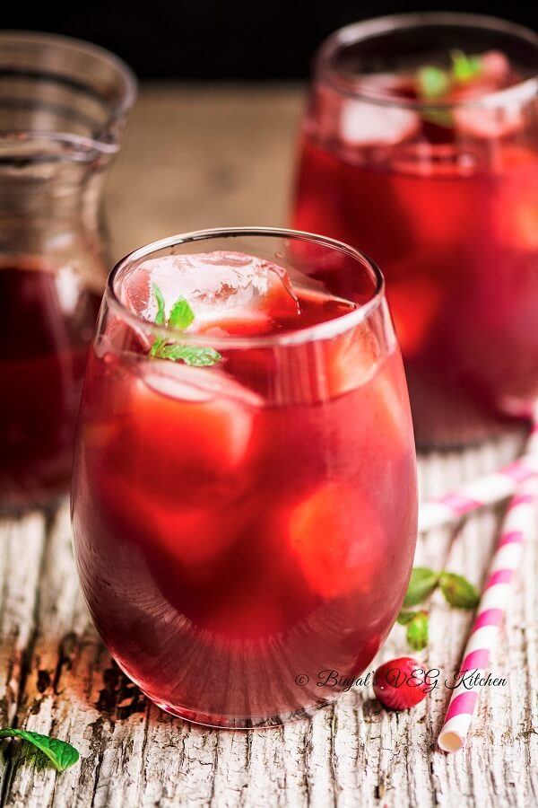 Cranberry Mojito Photography