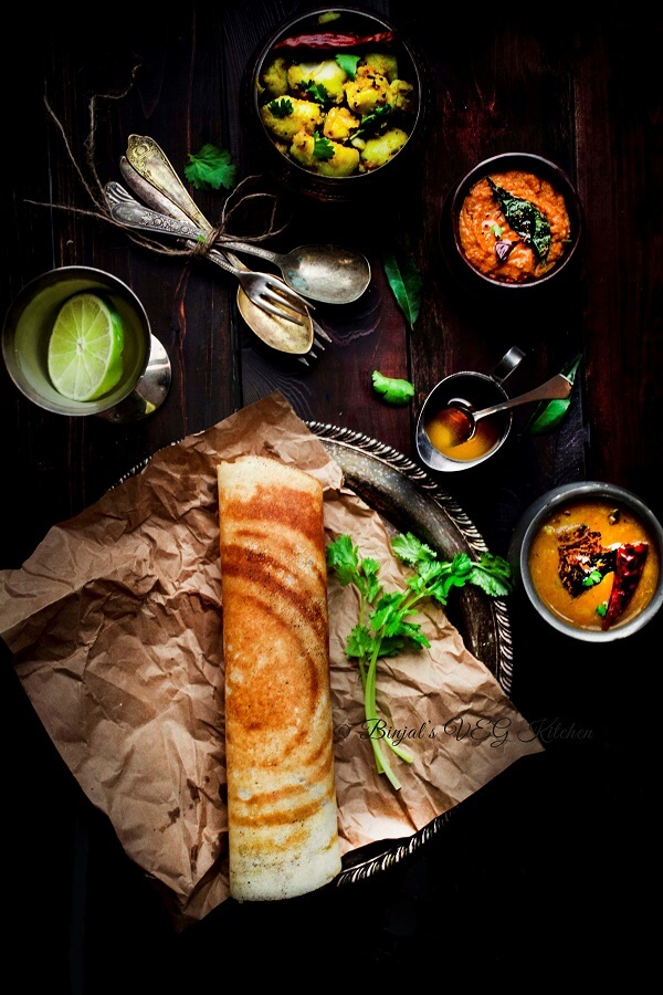 Masala Dosa Photography