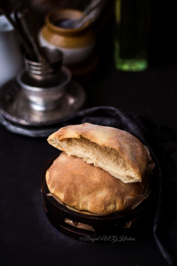 Pita Bread Photography