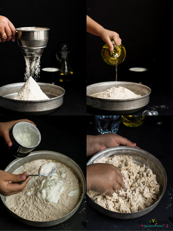 No Yeast Whole Wheat Garlic Naan M1