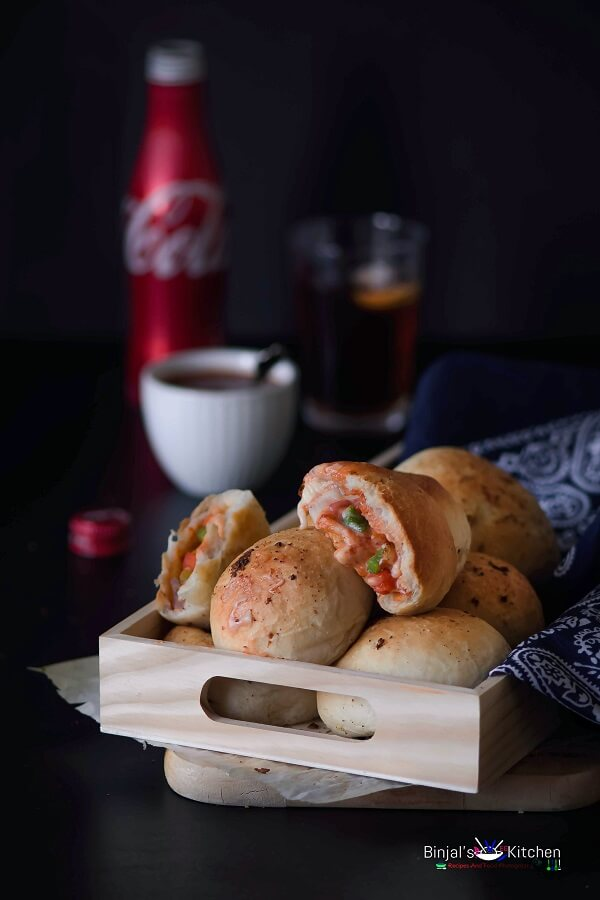 Pizza Bombs Pizza Pockets Photography