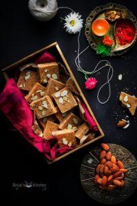Sukhadi Recipe (Golpapadi)