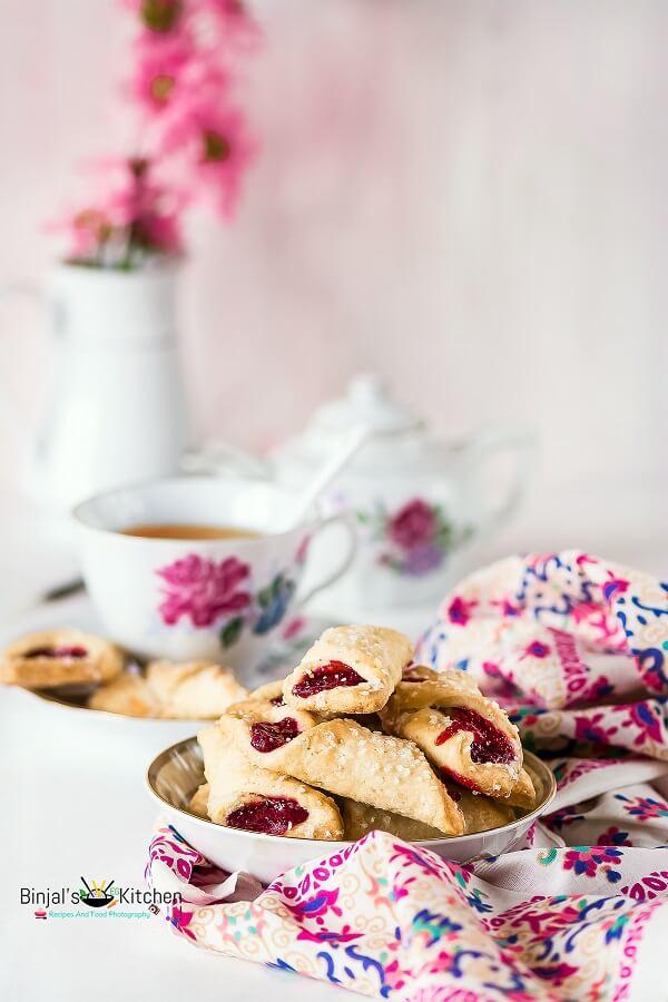 Eggless Polish Cream Cheese Cookies