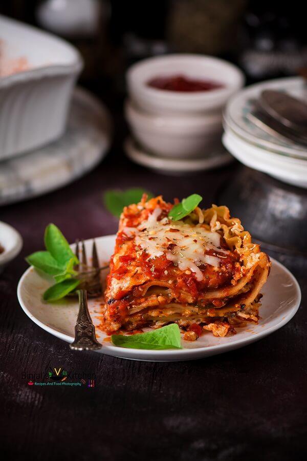 Vegetarian Zucchini Lasagna