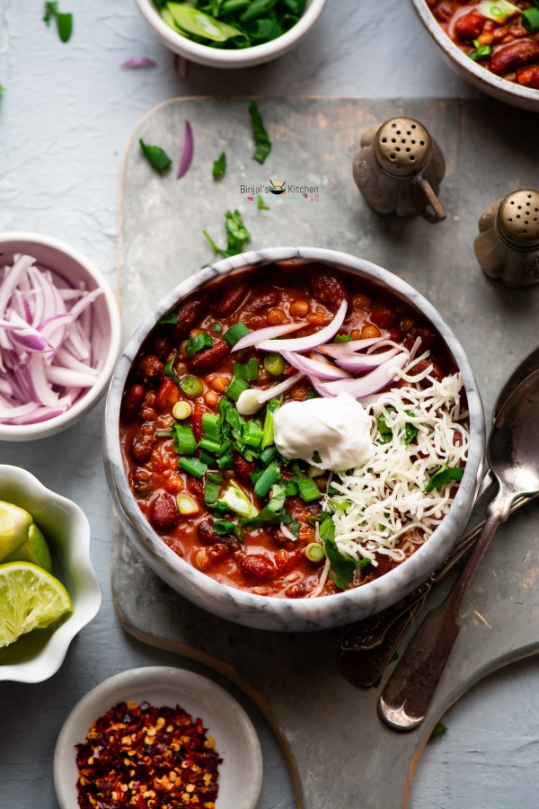 Chipotle vegetarian Bean Chili