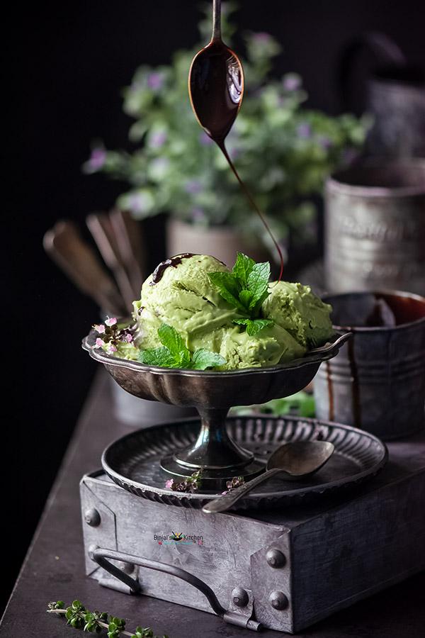 Avocado Matcha Ice Cream