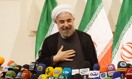 Rouhani press conference Photo source: