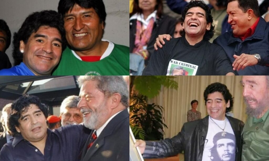 Maradona: the Bolivarian Soccer Genius