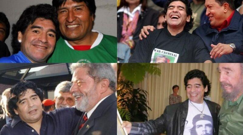 Maradona: the Bolivarian Soccer Genius