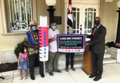 Successful U.S. Campaign to Send 6 Million Vaccination Syringes to Cuba