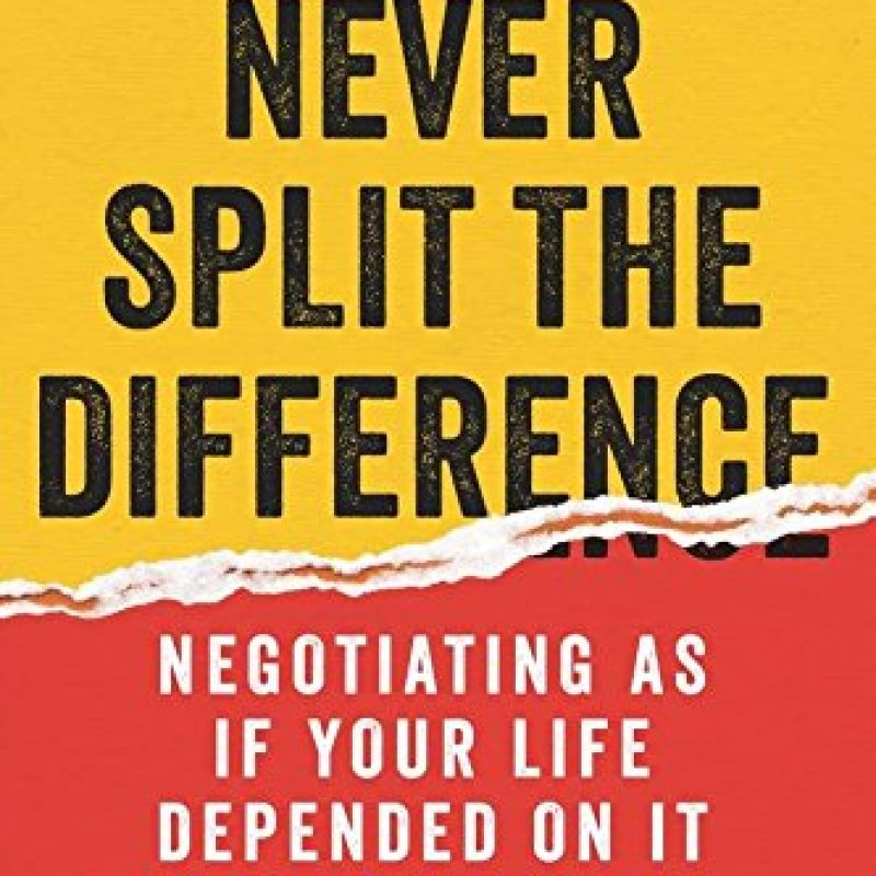 Never Split Difference Book Cover