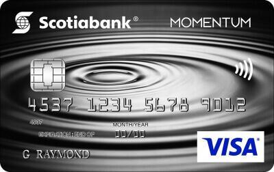 Scotia Momentum® No-Fee VISA Credit Card Review
