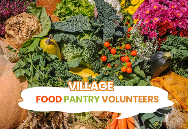 VEC Food Pantry Volunteers