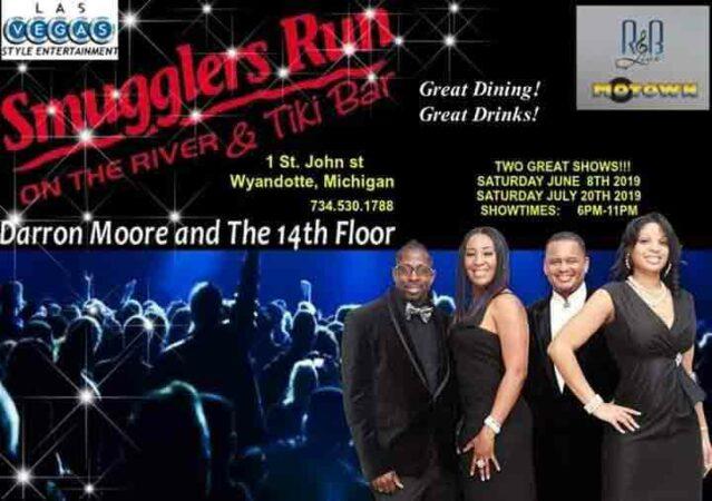 Darron Moore & The 14th Floor @ Smugglers Run on the River & Tiki Bar